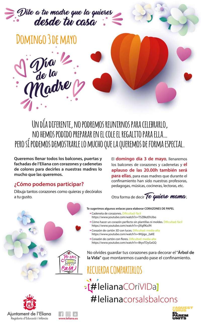 Cartel del Día de la Madre. / EPDA