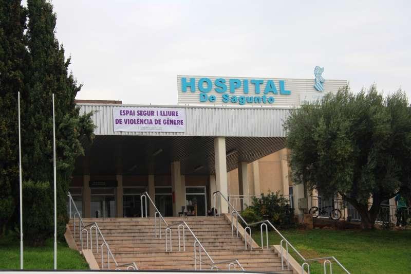 Imagen de archivo del Hospital de Sagunt. EPDA