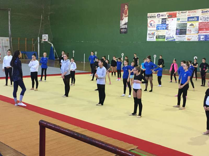 Máster Class de Gimnasia Rítmica. EPDA