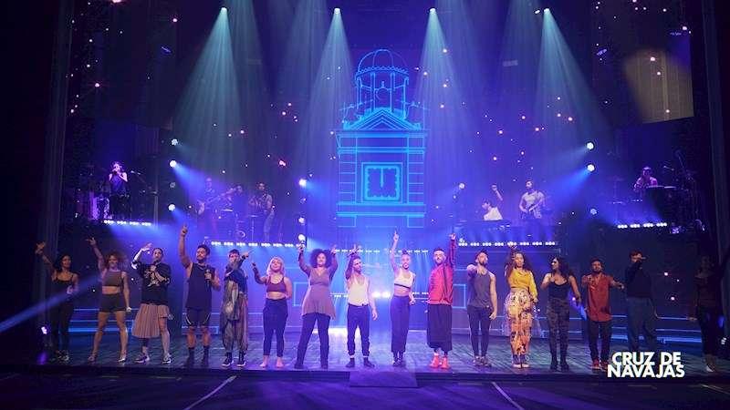 El nuevo musical sobre Mecano que se estrenará a nivel nacional en la Rambleta de València el 3 de marzo. EFE