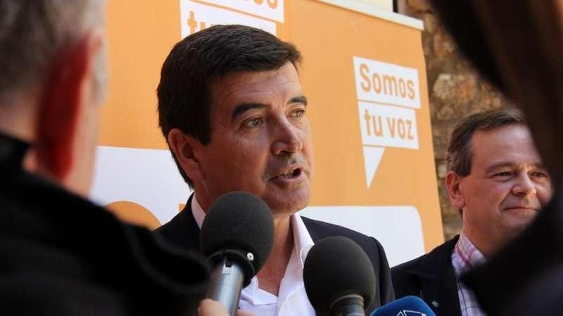 El portavoz de Ciudadanos (Cs) en el Ayuntamiento de Valencia, Fernando Giner -EPDA