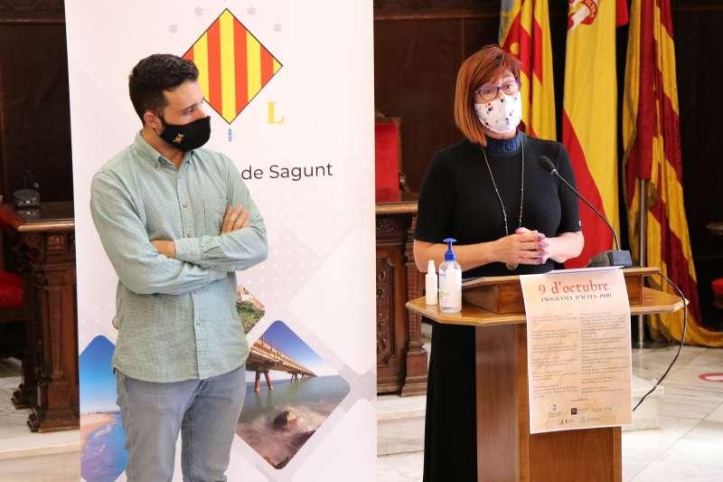 Darío Moreno i Asun Moll.