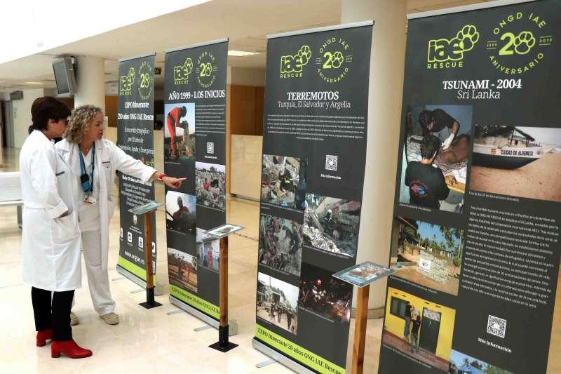 Exposición ONG Intervención, Ayuda y Emergencia (IAE) - EPDA