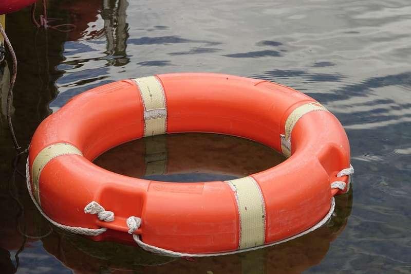Flotador salvavidas. EPDA