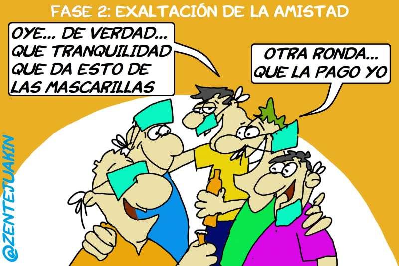 EL SHOW DE LAS MASCARILLAS