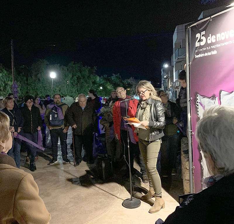 Concentració a Benifairó de les Valls. EPDA