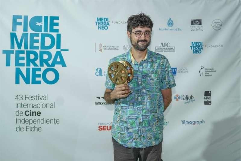 Foto cedida por el Festival de Cine Independiente de Elche de Chema Garci?a Ibarra, ganador de la 43 edición del certamen. EFE