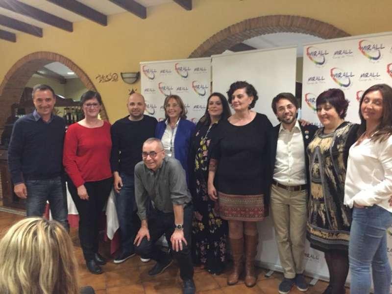 El II Sopar de Germanor de Mirall Camp de Túria congrega més de 70 persones