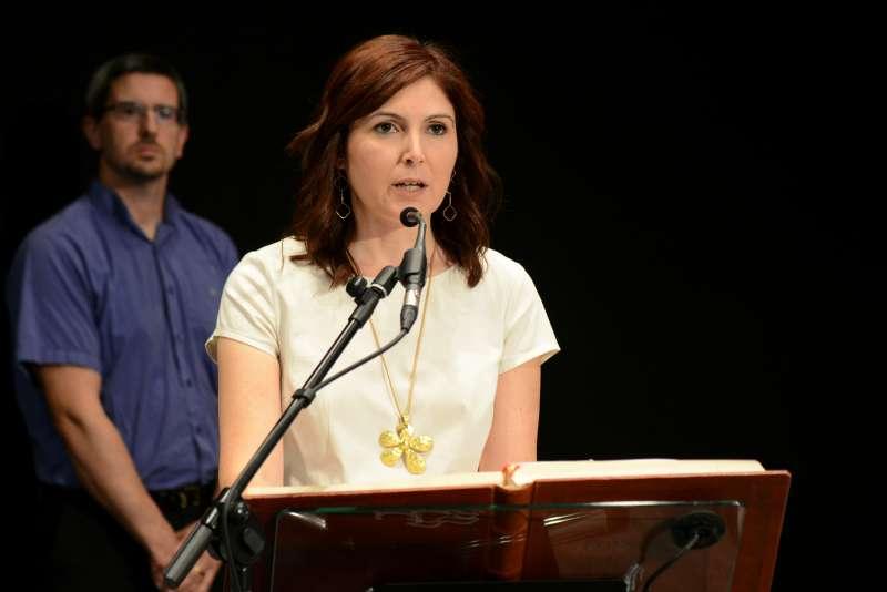 Socia de gobierno y futura alcaldesa, Maribel Albalat