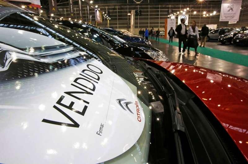 Uno de los casi 3.000 vehículos vendidos en Feria Valencia. FOTO EPDA