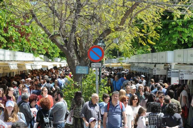 Imagen de la 52 Fira del Llibre de Valencia. Foto: García Poveda