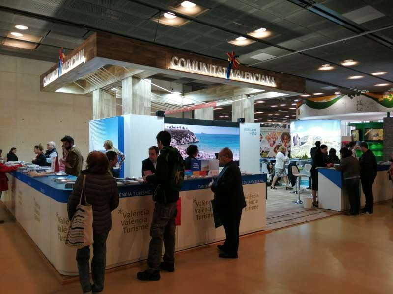 Expositor de la Comunitat Valenciana en Aratur. EPDA