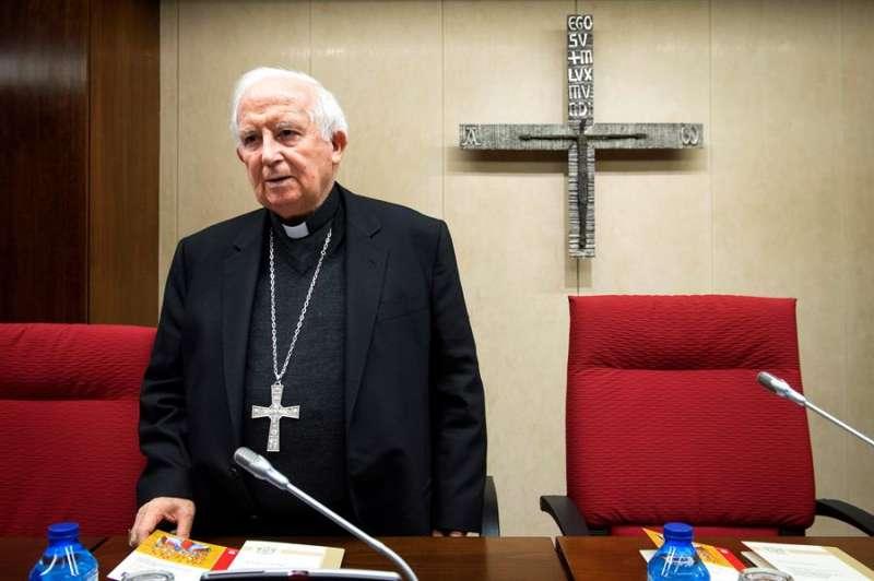 El cardenal arzobispo de Valencia y vicepresidente de la CEE, Antonio Cañizares. - EFE