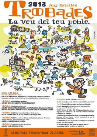 Cartell promocional de la Trobada. FOTO: EPDA