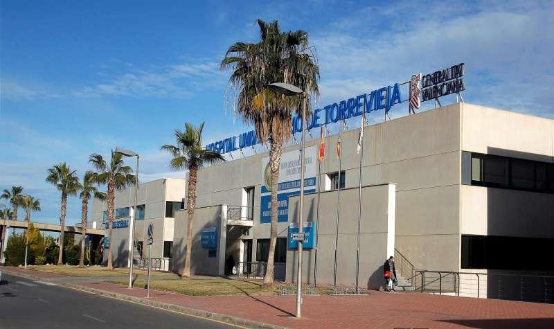El Hospital de Torrevieja (Alicante).