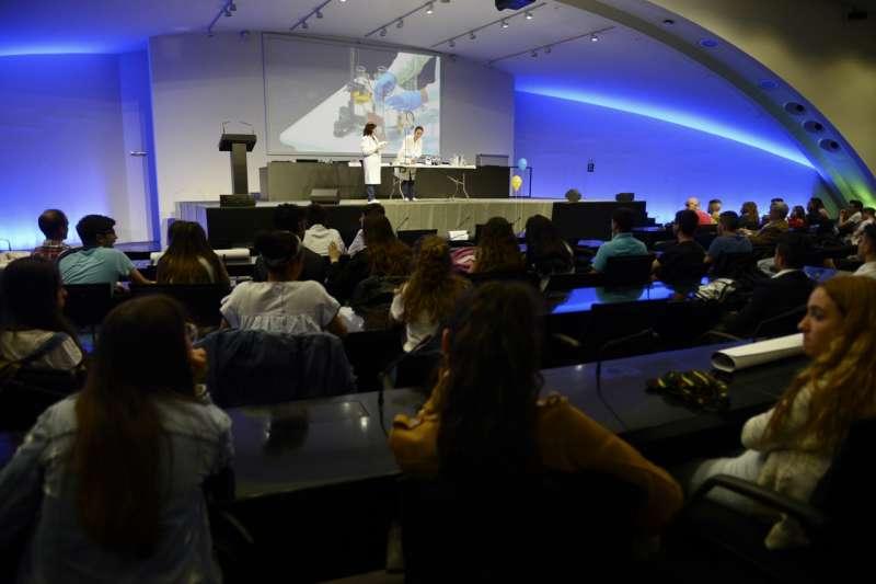 Auditorio Museu de les Ciències. -EPDA