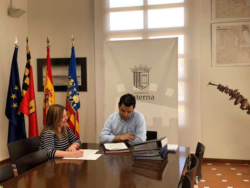 Eva Pérez y Juan Antonio Sagredo. EPDA
