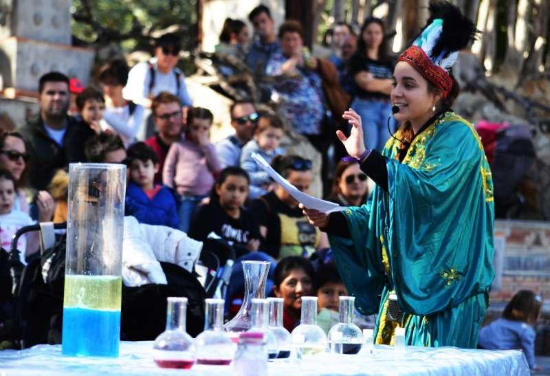 Día de la ciencia en BIOPARC. EPDA
