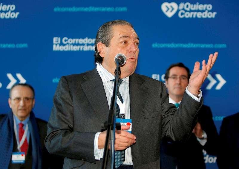 El Presidente de AVE,Vicente Boluda. EFE