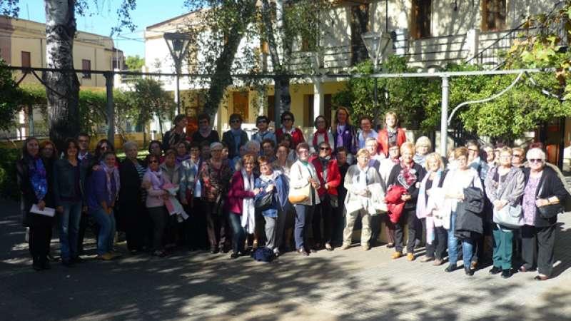Participantes en el encuentro en Godella. EPDA