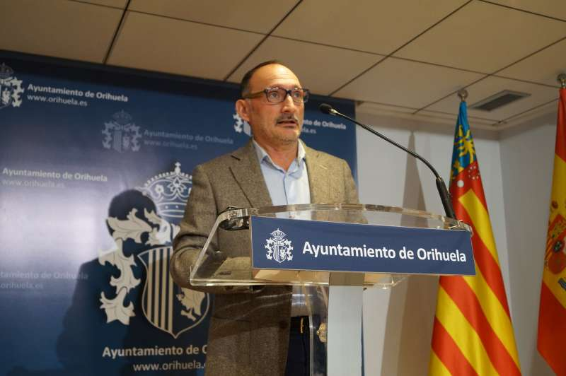 Rafael Almagro, concejal de Hacienda