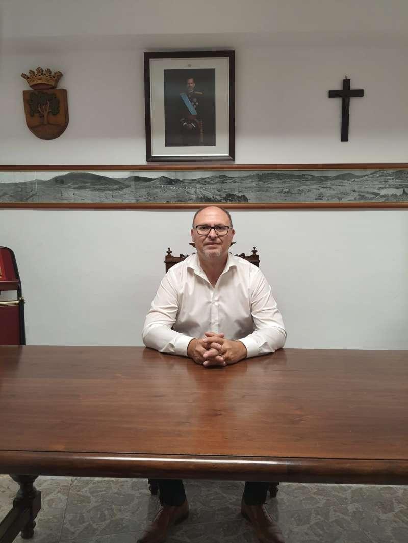 Melanio Esteban, alcalde de Higueruelas. / EPDA