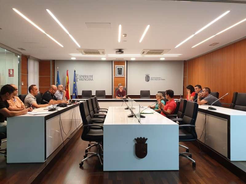 Reunión en el Ayuntamiento. / EPDA