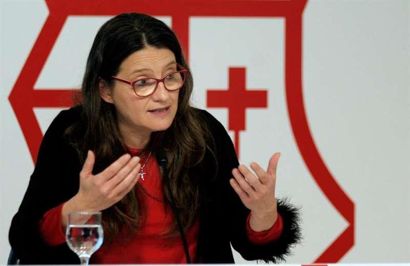 La vicepresidenta y portavoz del Gobierno valenciano, Mónica Oltra. EFE/Jorge Gil/Archivo