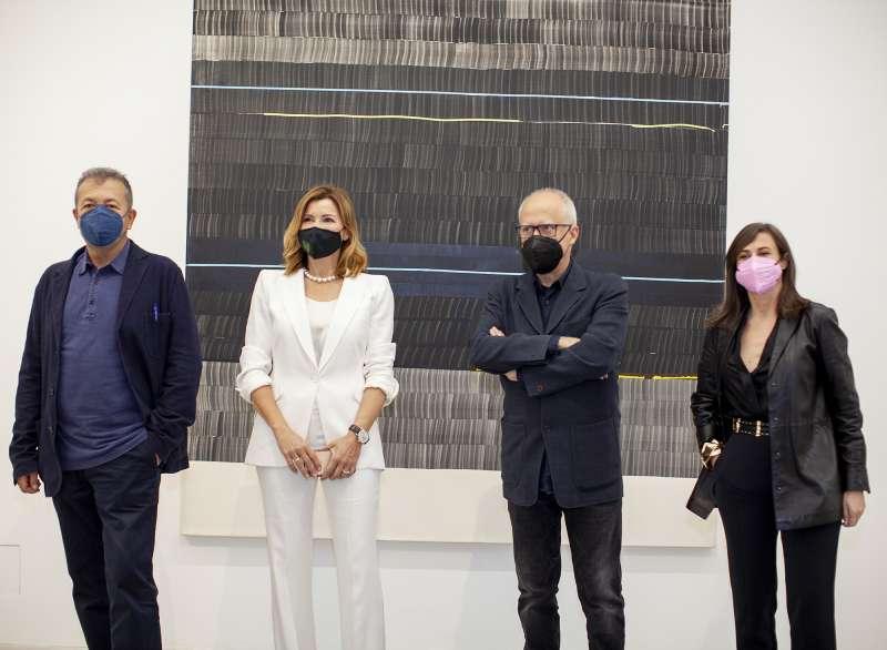Vicent Todolí, Susana Lloret, Juan Uslé, Sandra Guimarães