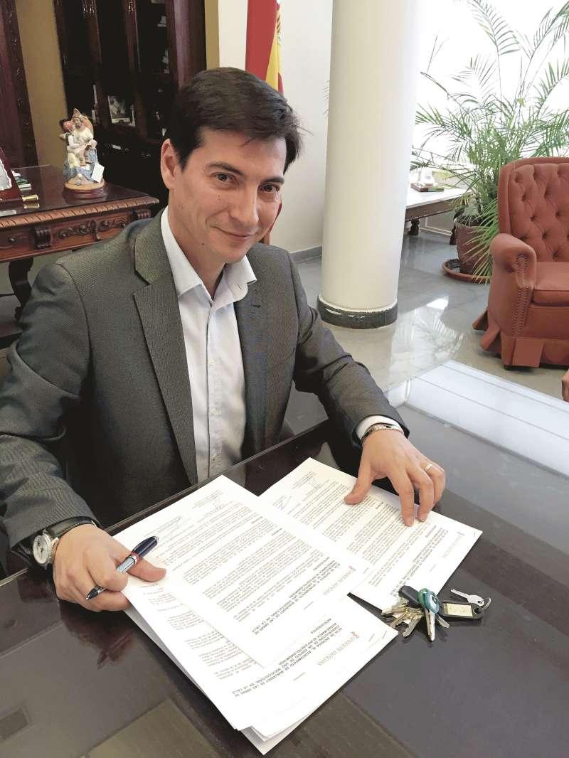 Rafa García, alcalde de Burjassot