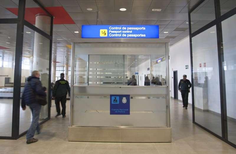 Imagen de una de las salas del aeropuerto de Castellón. EFE/Domenech Castelló/Archivo