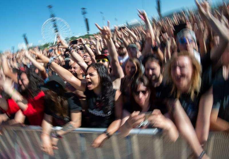 Público durante un festival. EFE/Archivo
