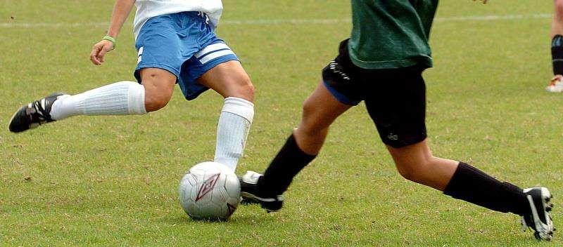 Momento de un partido de fútbol infantil femenino. EFE/Archivo