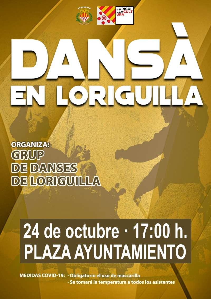 Cartel de la Dansà en Loriguilla. / EPDA