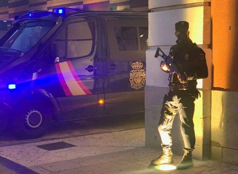 Policía Nacional. Foto. Archivo