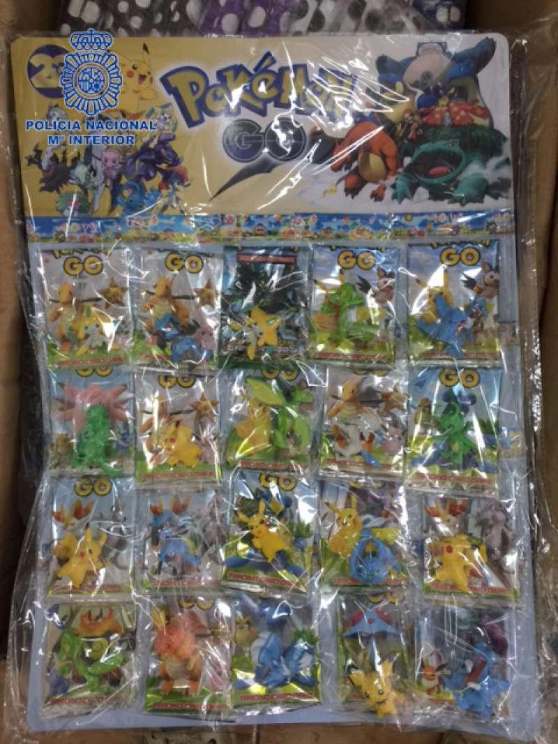 Pokemons falsificados.