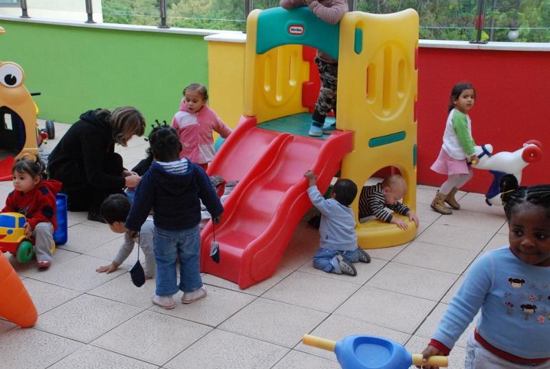 Los niños vuelven al cole en las escuelas infantiles de la Casa de la Caridad (EPDA)