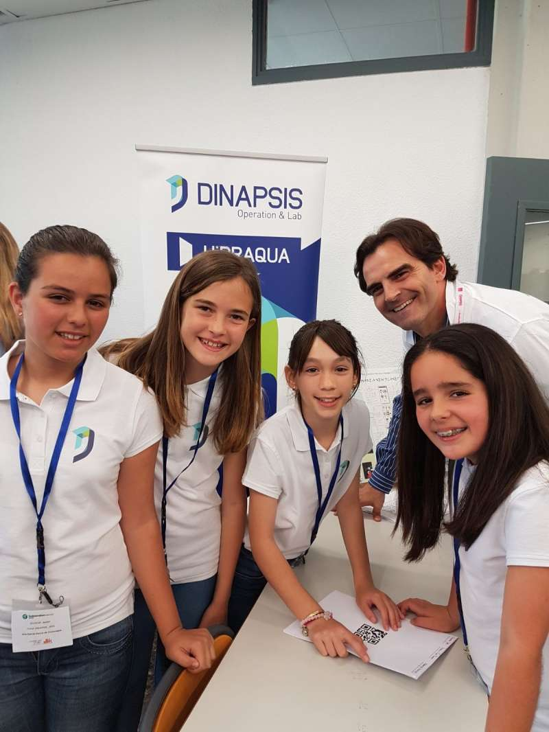 Algunos de los componentes del equipo de Dinapsis