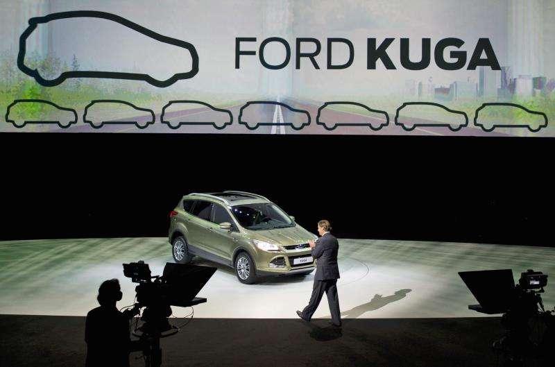 El coche Ford Kuga en una presentación. EFE/Archivo
