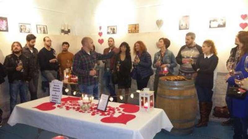 Cata en San Valentin realizada en Cheste. EPDA