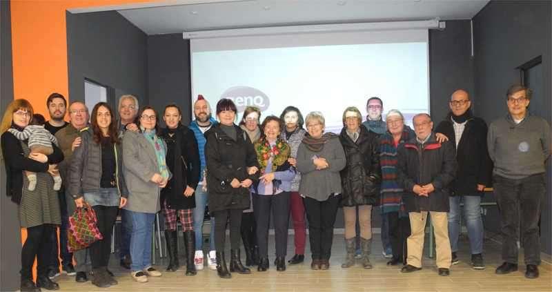 Participantes en el encuentro de Aldaia. EPDA