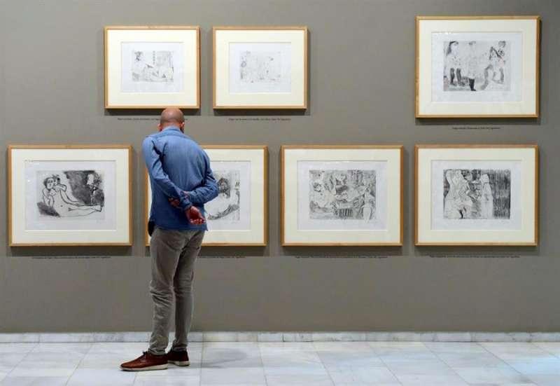Imagen de la exposición cedida por la Fundación Bancaja. EFE