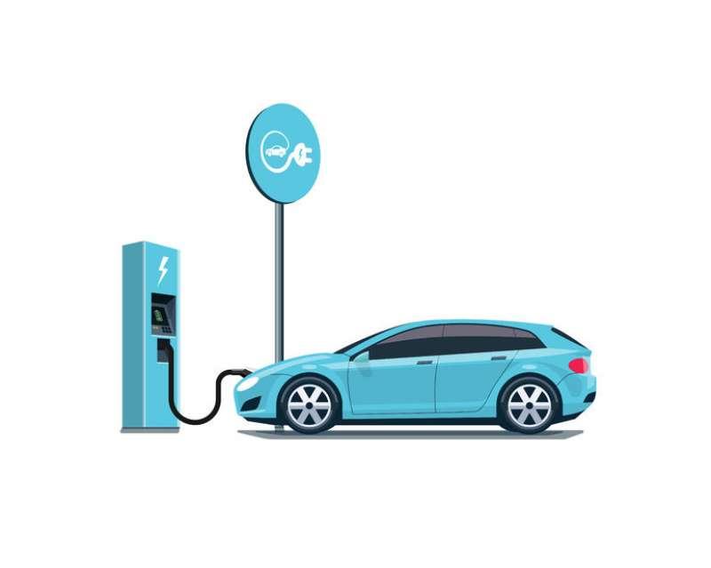 Punto de recarga para vehículos electricos. EPDA