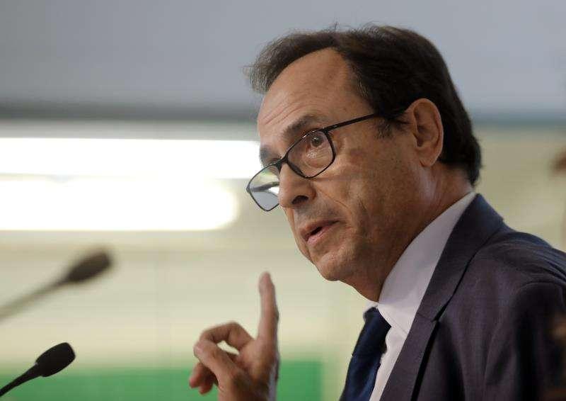 El conseller de Hacienda, Vicent Soler, en una imagen de archivo. EFE