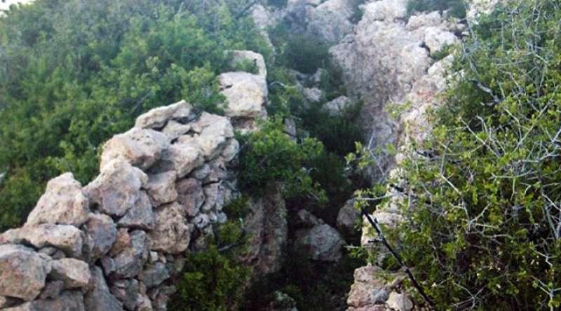 Trincheras en Montmayor