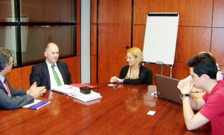 Delegación alemana de Sajonia-Anhalt en la Pobla de Vallbona. Foto EPDA