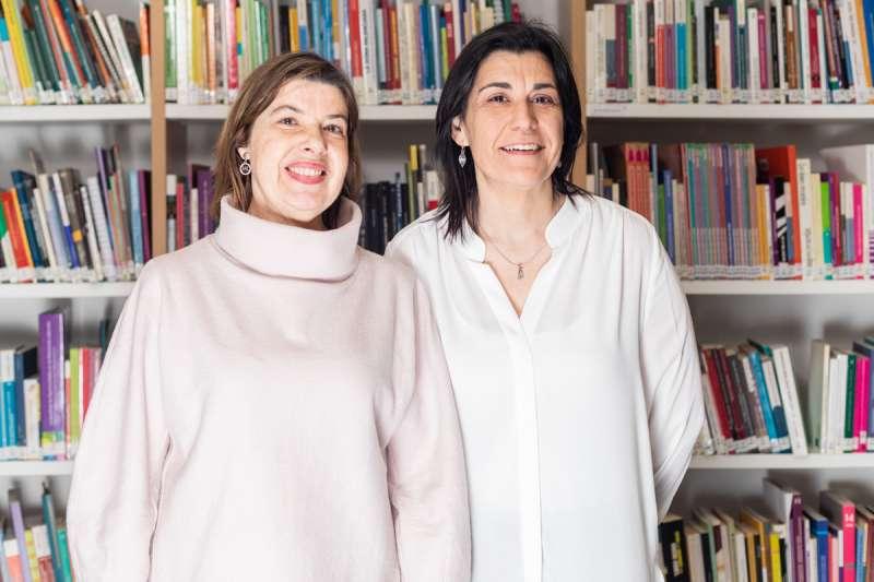 Dolors López Asensi i Bàrbara Gascó Comeche, bibliotecàries del Camp de Túria/epda.