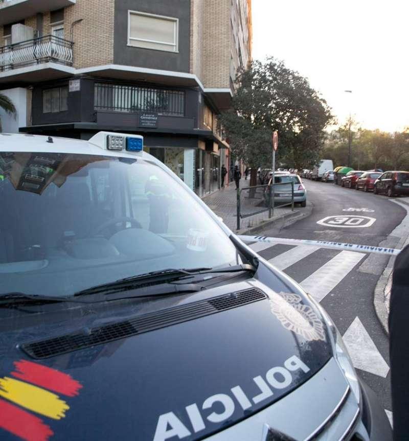 La Policía Nacional interviene en un suceso. EFE/Archivo
