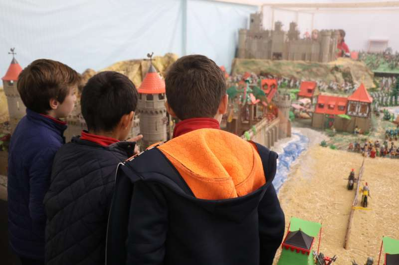 Visitantes de la exposición. EPDA
