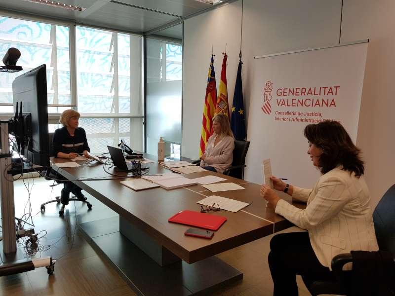 Gabriela Bravo en su despacho. / EPDA